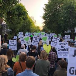 Grenfell Silent Walk - 1 Year On