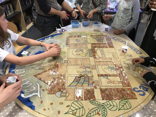 Memorable mosaic making
