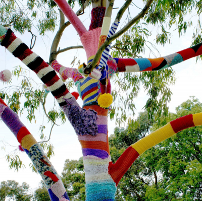 Yarn Bomb Knitting