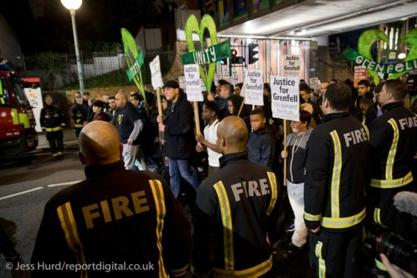 Justice for Grenfell Solidarity March