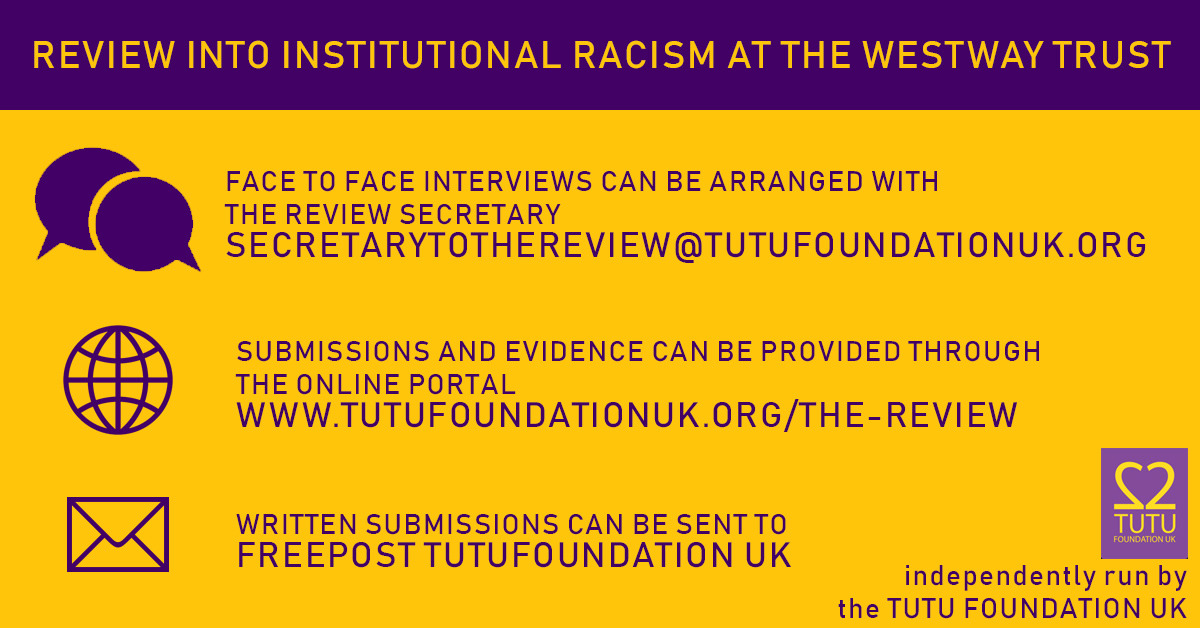 westway-trust-institutional-racism-review-